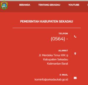 Pengumuman Hasil Tes SKD CPNS Kabupaten Sekadau 2018