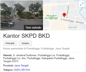 Pengumuman Hasil Tes SKD CPNS Kabupaten Purbalingga 2018