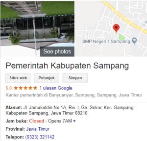 Pengumuman Hasil Tes SKD CPNS Kabupaten Sampang 2018
