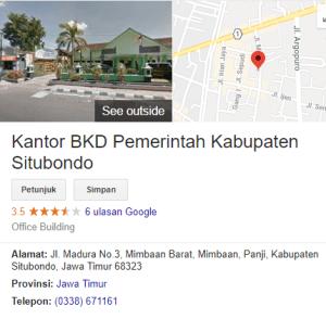Pengumuman Hasil Tes SKD CPNS Kabupaten Situbondo 2018