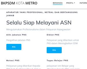 Pengumuman Hasil Tes SKD CPNS Kota Metro 2018