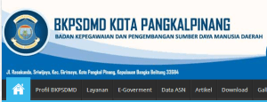 Pengumuman Hasil Tes SKD CPNS Kota Pangkal Pinang 2018