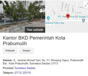 Pengumuman Hasil Tes SKD CPNS Kota Prabumulih 2018