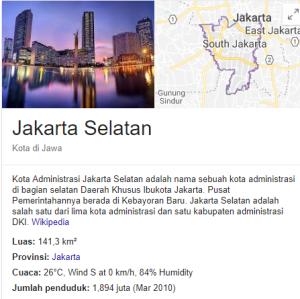 Pengumuman Hasil Tes SKD CPNS Jakarta Selatan 2018