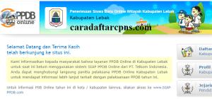 Jadwal Pendaftaran PPDB SMA SMK Negeri Kab Lebak 2020 2021