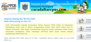 Jadwal Pendaftaran PPDB SMA SMK Negeri Kab Pandeglang 2020 2021