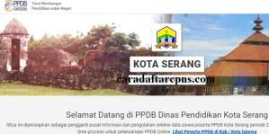 Jadwal Pendaftaran PPDB SMA Kota Serang 2020 2021