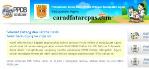 PPDB SMP Kabupaten Agam