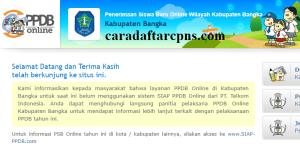 PPDB SMP Kabupaten Bangka
