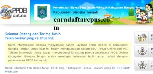 PPDB SMP Kabupaten Bangka Tengah