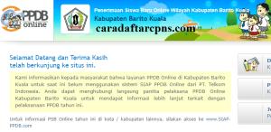Jadwal PPDB SMA SMK Negeri Kab Barito Kuala 2020 2021