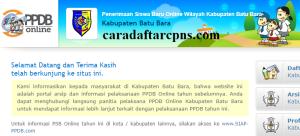 PPDB SMP Kabupaten Batubara