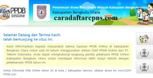 PPDB SMP Kabupaten Bengkulu Utara