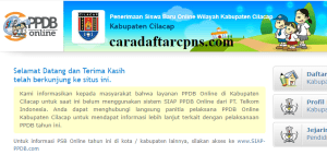 Pengumuman Hasil PPDB SMA SMK Negeri Kabupaten Cilacap 2020 2021