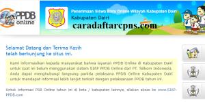 PPDB SMP Kabupaten Dairi