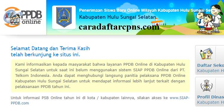 Ppdb Smp Kabupaten Hulu Sungai Selatan Syarat Dan Jadwal Daftar