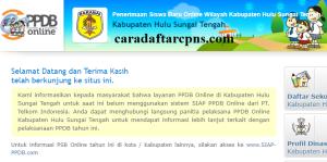 PPDB SMP Kabupaten Hulu Sungai Tengah