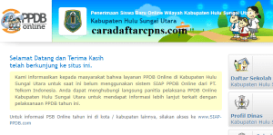 PPDB SMP Kabupaten Hulu Sungai Utara