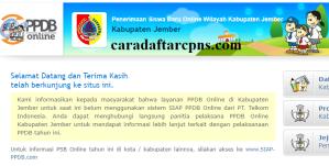 PPDB SMP Kabupaten Jember