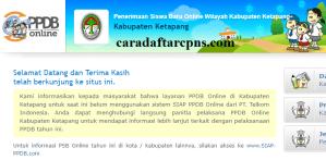 PPDB SMP Kabupaten Ketapang
