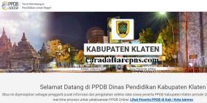 PPDB SMP Kabupaten Klaten