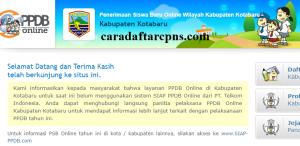 Jadwal PPDB SMA SMK Negeri Kab Kotabaru 2020 2021