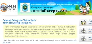 Jadwal PPDB SMA SMK Negeri Kab Lamongan 2020 2021