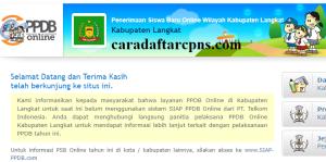 Jadwal PPDB SMA SMK Negeri Kab Langkat 2020 2021