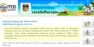 Jadwal PPDB SMA SMK Negeri Kab Minahasa 2020 2021