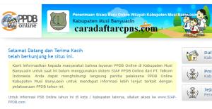 PPDB SMP Kabupaten Musi Banyuasin