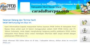 PPDB SMP Kabupaten Musi Rawas Utara