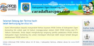 PPDB SMP Kabupaten Ogan Komering Ulu