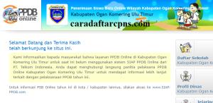 PPDB SMP Kabupaten Ogan Komering Ulu Timur