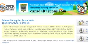 Jadwal PPDB SMA SMK Negeri Kab Padang Pariaman 2020 2021
