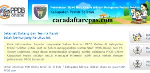 PPDB SMP Kabupaten Pesisir Selatan