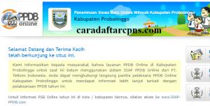 PPDB SMP Kabupaten Probolinggo