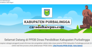 Pengumuman Hasil PPDB SMA SMK Negeri Kabupaten Purbalingga 2020 2021