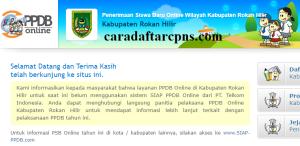 PPDB SMP Kabupaten Rokan Hilir