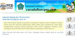PPDB SMP Kabupaten Sidoarjo