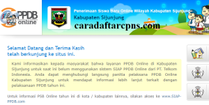 Jadwal PPDB SMA SMK Negeri Kab Sijunjung 2020 2021