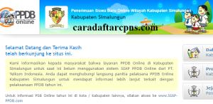 Jadwal PPDB SMA SMK Negeri Kab Simalungun 2020 2021