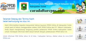 PPDB SMP Kabupaten Solok
