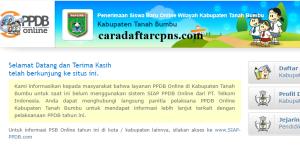 Jadwal PPDB SMA SMK Negeri Kab Tanah Bumbu 2020 2021