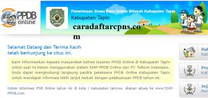 Jadwal PPDB SMA SMK Negeri Kab Tapin 2020 2021
