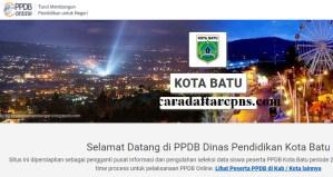 Jadwal Pendaftaran PPDB SMA Kota Batu 2020 2021