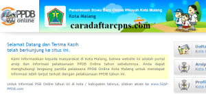 Jadwal Pendaftaran PPDB SMA Kota Malang 2020 2021