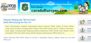 Jadwal Pendaftaran PPDB SMA Kota Medan 2020 2021