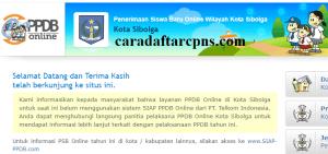 Jadwal Pendaftaran PPDB SMA Kota Sibolga 2020 2021