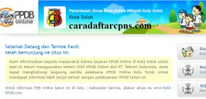 Jadwal Pendaftaran PPDB SMA Kota Solok 2020 2021