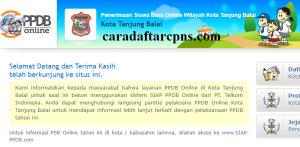 Jadwal Pendaftaran PPDB SMA Kota Tanjungbalai 2020 2021